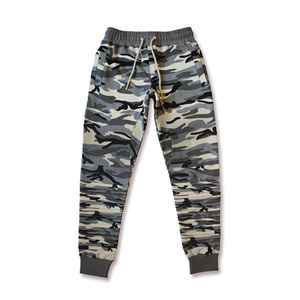 롤로, [LOLO] SWEAT PANTS WOMEN (GREYCAMO) - 풋셀스토어