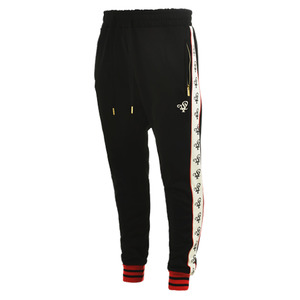 롤로, [LOLO] TRACK PANTS (Black/Cream) - 풋셀스토어