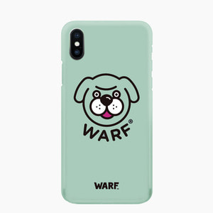 [WARF] Big Face Mobile Case Green, 워프 - 풋셀스토어
