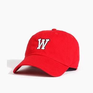 [WARF] Warf Bone Logo Cap Red, 워프 모자 - 풋셀스토어