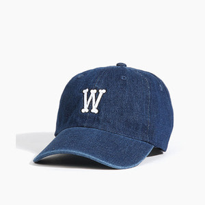 [WARF] Warf Bone Logo Cap Dark Blue, 워프 모자 - 풋셀스토어