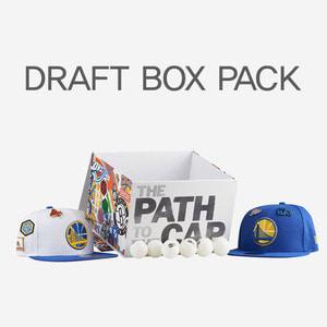뉴에라 NBA 드래프트 팩 한정 골든 스테이트 워리어스, NEWERA NBA DRAFT BOX  GOLDEN STATE SNAPBACK - 풋셀스토어