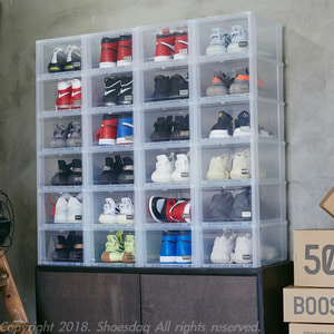 슈브제(Shoevjet) 프리미엄 신발 보관함, 신발장, 신발 케이스,인테리어 소품 - 풋셀스토어