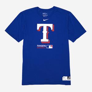 나이키 MLB 텍사스 레인저스 로고 드라이핏 반팔티, NIKE MLB TEXAS DRI FIT T-SHIRT - 풋셀스토어