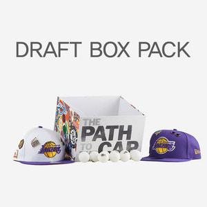 뉴에라 NBA 드래프트 팩 한정 LA 레이커스, NEWERA NBA DRAFT BOX LA LAKERS SNAPBACK - 풋셀스토어