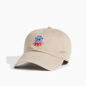 [WARF] Warf Dog Club Cap Khaki, 워프 모자 - 풋셀스토어