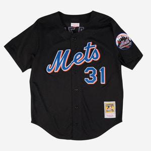 미첼엔네스 MLB 뉴욕메츠 마이크 피아자 쿠퍼스 타운 저지, Mike Piazza 1997 Authentic Mesh BP Jersey New York Mets - 풋셀스토어
