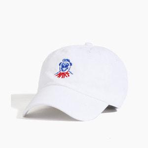 [WARF] Warf Dog Club Cap White, 워프 모자 - 풋셀스토어