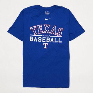 나이키 MLB 텍사스 레인저스 로고 반팔티, NIKE MLB TEXAS T-SHIRT - 풋셀스토어