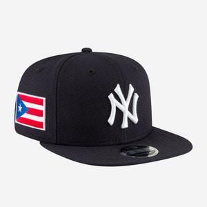 뉴에라 MLB 뉴욕 양키스 푸에르 토리코 플래그 한정, NEWERA New York Yankees Snapback - 풋셀스토어