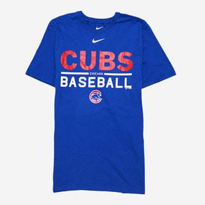 나이키 MLB 시카고 컵스 로고 반팔티, NIKE MLB CUBS T-SHIRT - 풋셀스토어