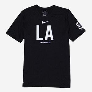 나이키 LA 한정 런클럽 드라이핏 반팔티, NIKE LA RUN CLUB SHIRT, 876666-010 - 풋셀스토어