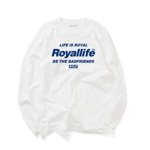 [로얄라이프] RLL301- 비 더 프렌즈 긴팔 - 6 컬러 - 풋셀스토어