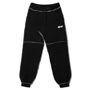 네스티킥, NSTK STITCHED PANTS BLACK (NK18A030H) - 풋셀스토어