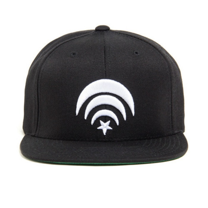 [블랙스케일]BLACK SCALE Connect Snapback (Black) - 풋셀스토어