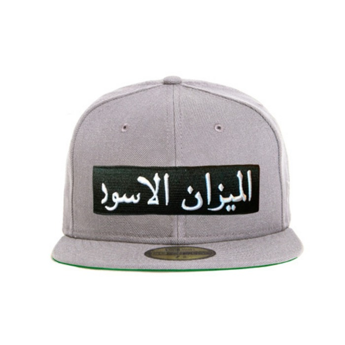 [블랙스케일]BLACK SCALE Arabic Scale New Era, Grey - 풋셀스토어