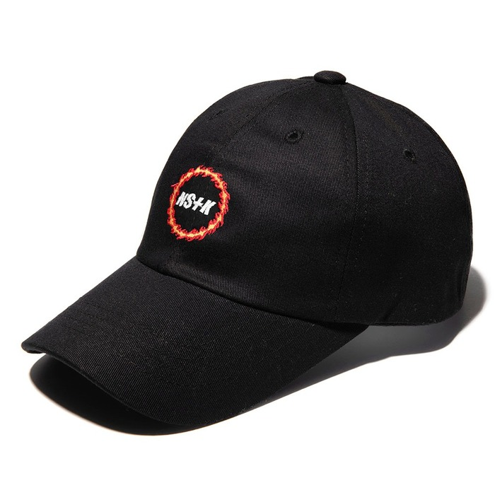 네스티킥, NSTK FLAME CIRCLE CAP BLACK (NK18A088H) - 풋셀스토어