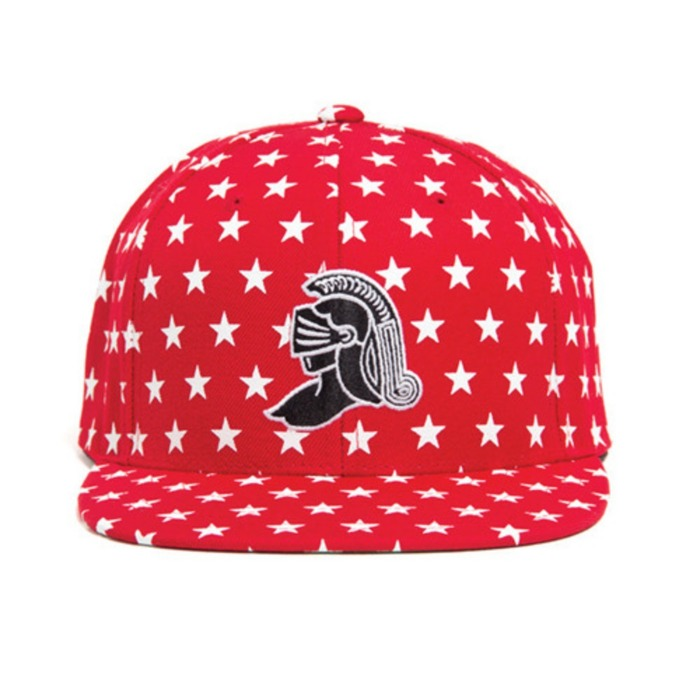 [블랙스케일]BLACK SCALE KNIGHT ALL STAR SNAPBACK (RED) - 풋셀스토어