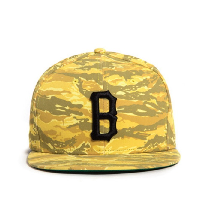 [블랙스케일]BLACK SCALE COVERT B LOGO NEW ERA YELLOW - 풋셀스토어