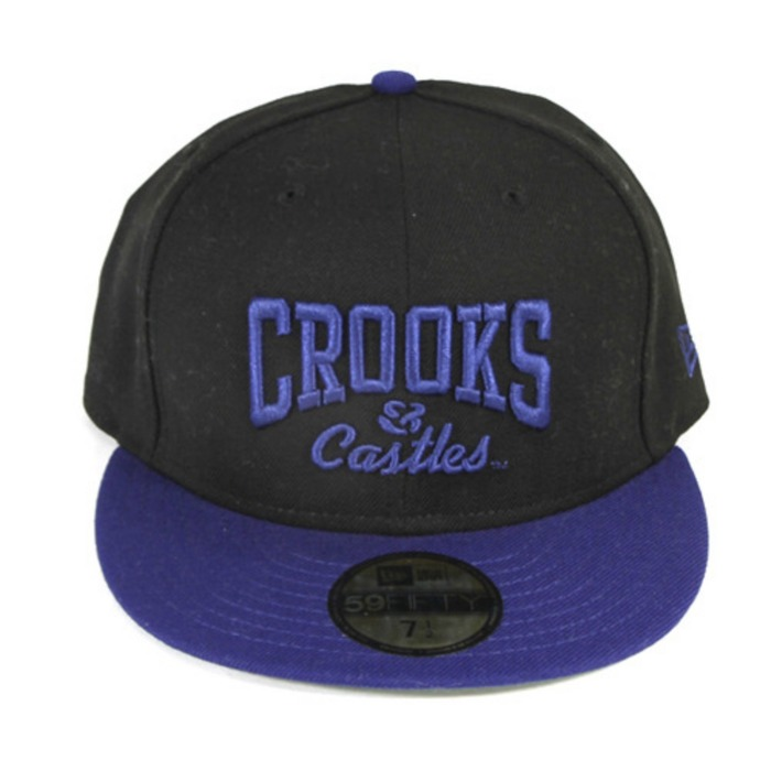 [크룩스앤캐슬]CROOKS & CASTLES Core Logo Fitted Cap [2] - 풋셀스토어