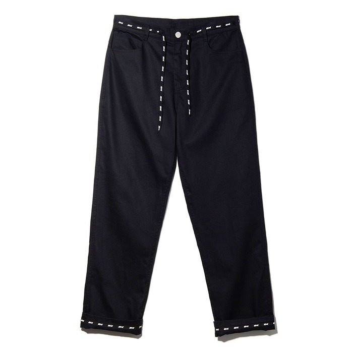 네스티킥, NSTK WRAPT PANTS BLACK (NK18A035H) - 풋셀스토어