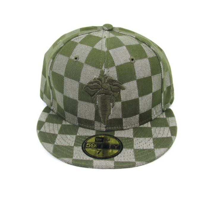 [크룩스앤캐슬]CROOKS & CASTLES GRAPHITE FIT NEW ERA [1] - 풋셀스토어