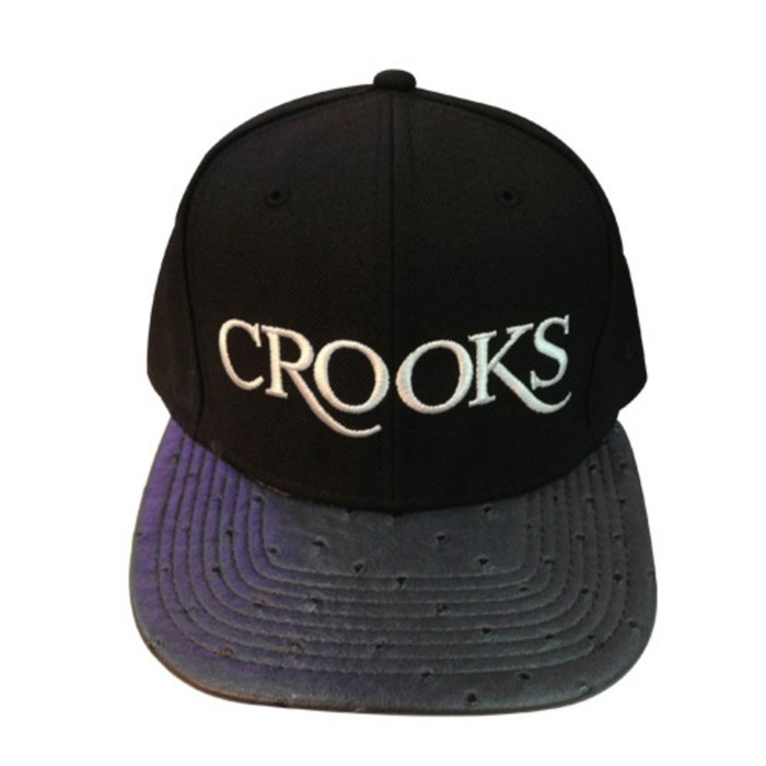 [크룩스앤캐슬]CROOKS & CASTLES Mens Woven Strapback Cap - Team Thuxury [2] - 풋셀스토어