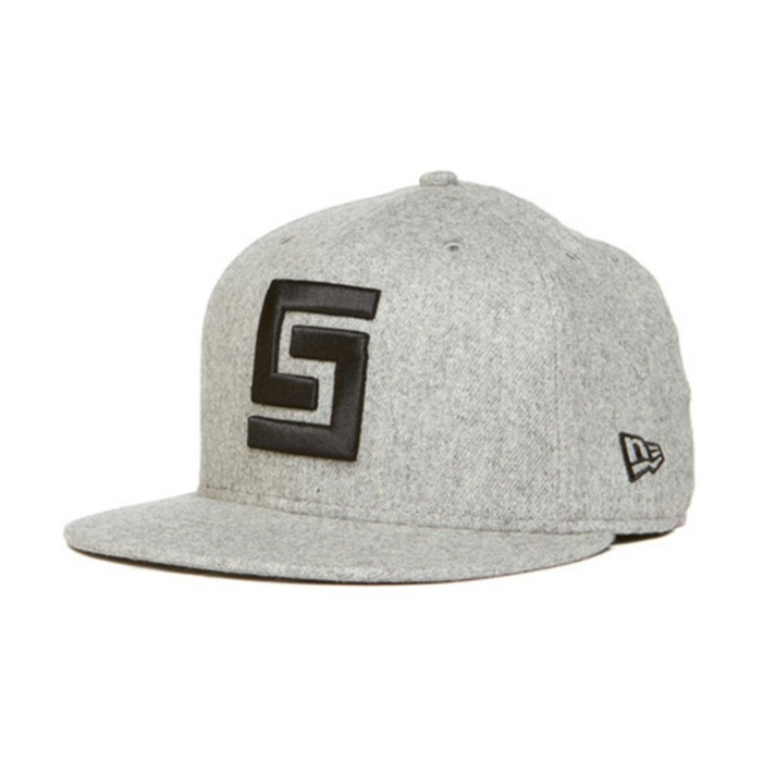 [크룩스앤캐슬]CROOKS & CASTLES Mens Woven Fitted Cap - Greco Logo [3] - 풋셀스토어