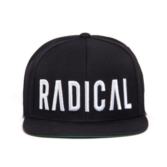 [블랙스케일]BLACK SCALE JT&CO x BS Radical Snapback, Black - 풋셀스토어