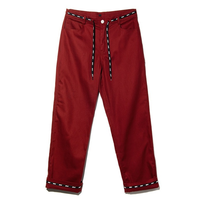 네스티킥, NSTK WRAPT PANTS BURGUNDY (NK18A035H) - 풋셀스토어