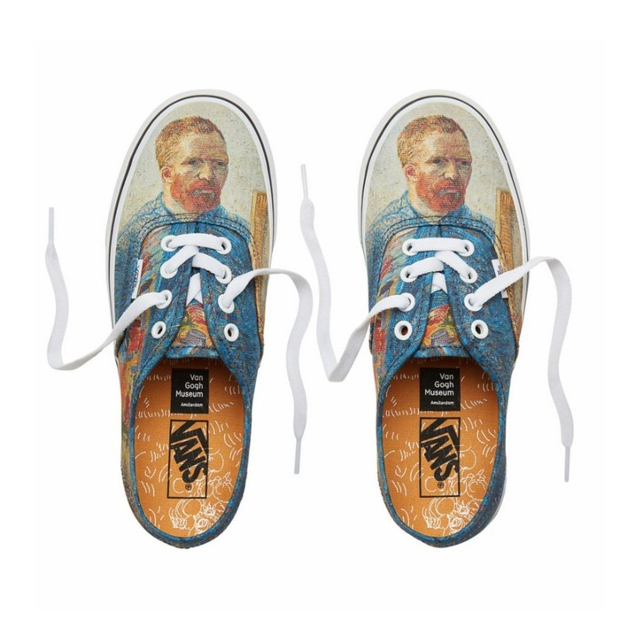 반스 어센틱(빈센트 고흐), Vans Classic Authentic Vincent van Gogh, VN0A38EMU5X - 풋셀스토어