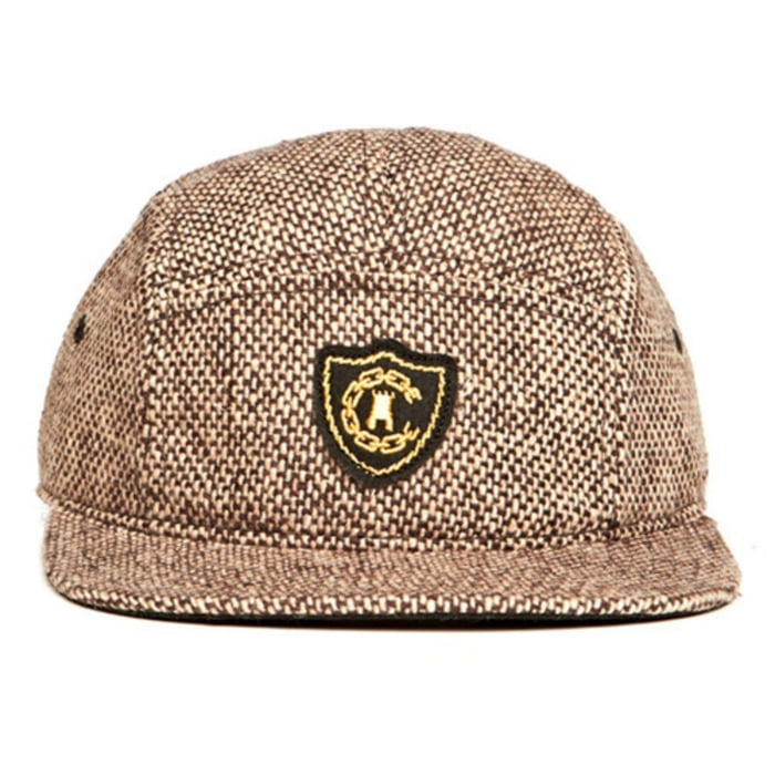 [크룩스앤캐슬]CROOKS & CASTLES Mens Woven 5 Panel Cap - Confetti [2] - 풋셀스토어