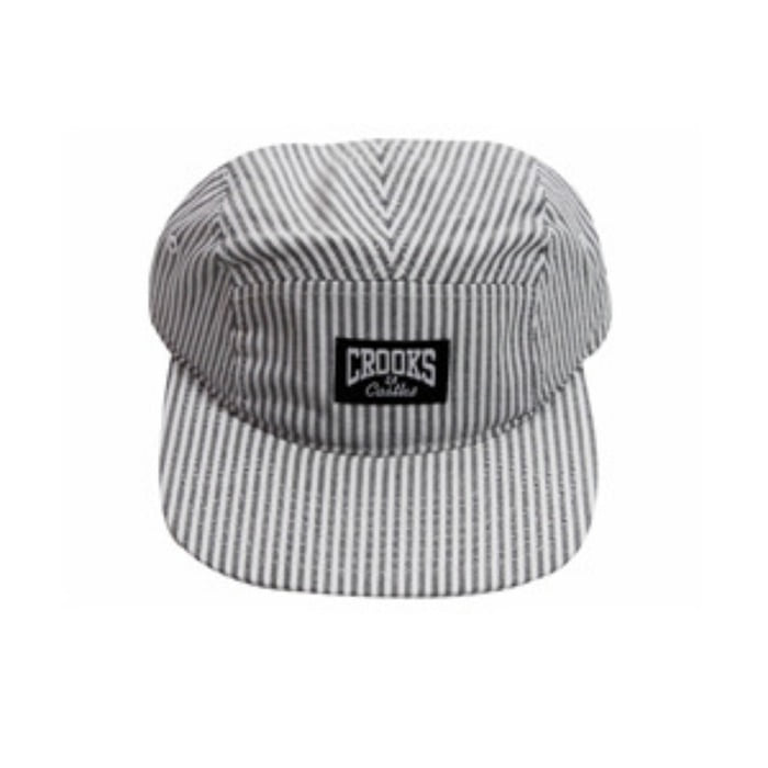 [크룩스앤캐슬]CROOKS & CASTLES RAILROAD 5 PANNEL CAP [3] - 풋셀스토어