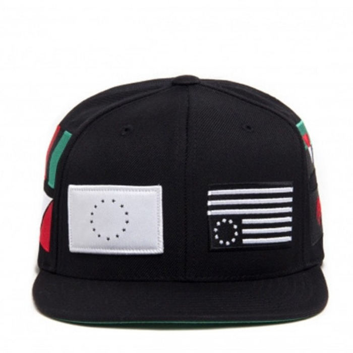 [블랙스케일]BLACK SCALE Pandemic Snapback, Black - 풋셀스토어