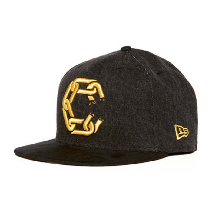 [크룩스앤캐슬]CROOKS & CASTLES Mens Woven Fitted Jungle Cap - New Chain C [3] - 풋셀스토어