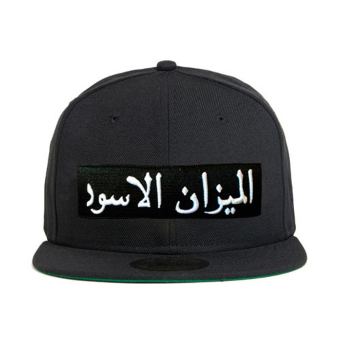 [블랙스케일]BLACK SCALE Arabic Scale New Era, Black - 풋셀스토어
