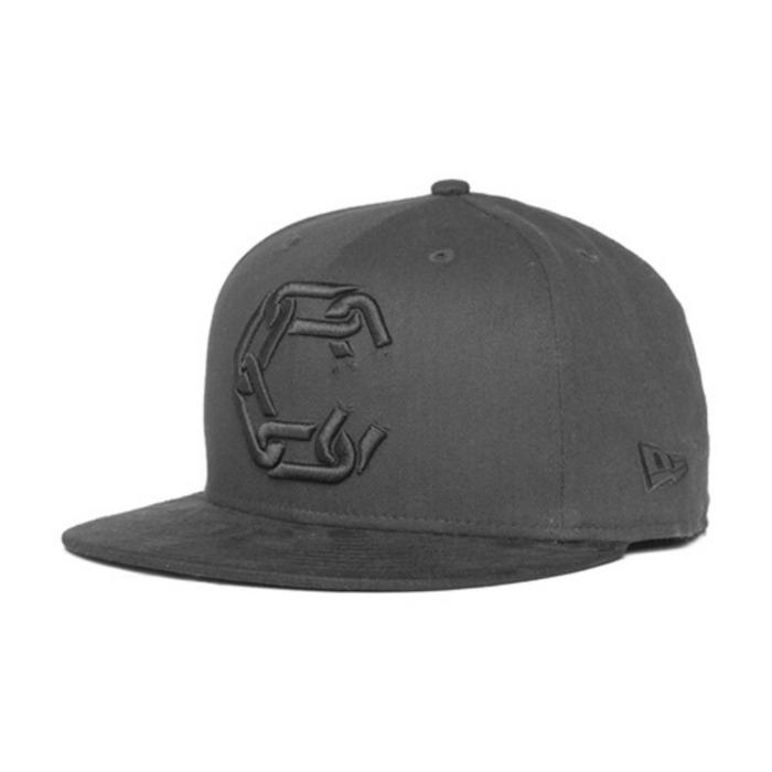 [크룩스앤캐슬]CROOKS & CASTLES Mens Woven Fitted Cap - New Chain [4] - 풋셀스토어