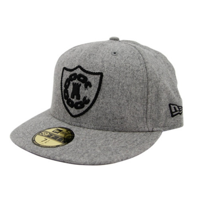 [크룩스앤캐슬]CROOKS & CASTLES CREST CHAIN C NEW ERA [2] - 풋셀스토어