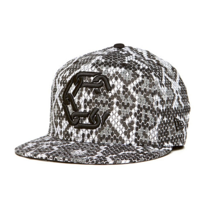 [크룩스앤캐슬]CROOKS & CASTLES Mens Woven Fitted Jungle Cap - New Chain C [2] - 풋셀스토어