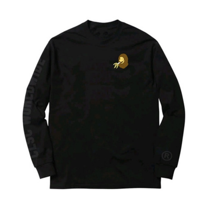 [씨엘에스씨]CLSC  A BATHING GEORGE L/S (Black) - 풋셀스토어