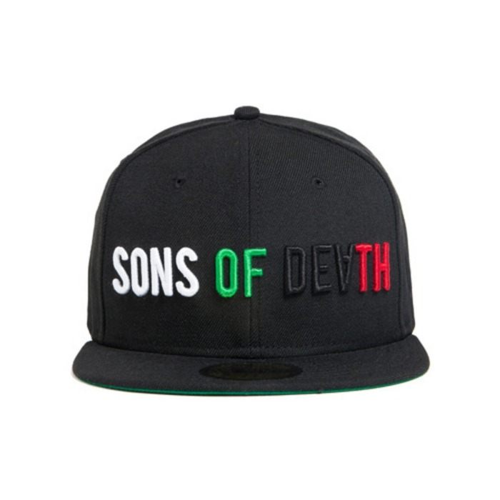[블랙스케일]BLACK SCALE Sons Of Death New Era, Black - 풋셀스토어