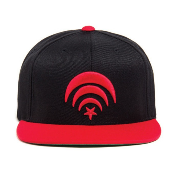[블랙스케일]BLACK SCALE Connect Snapback (Red) - 풋셀스토어