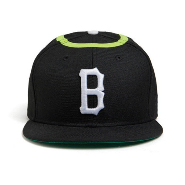 [블랙스케일]BLACK SCALE CHERUB B LOGO NEW ERA (BLACK) - 풋셀스토어