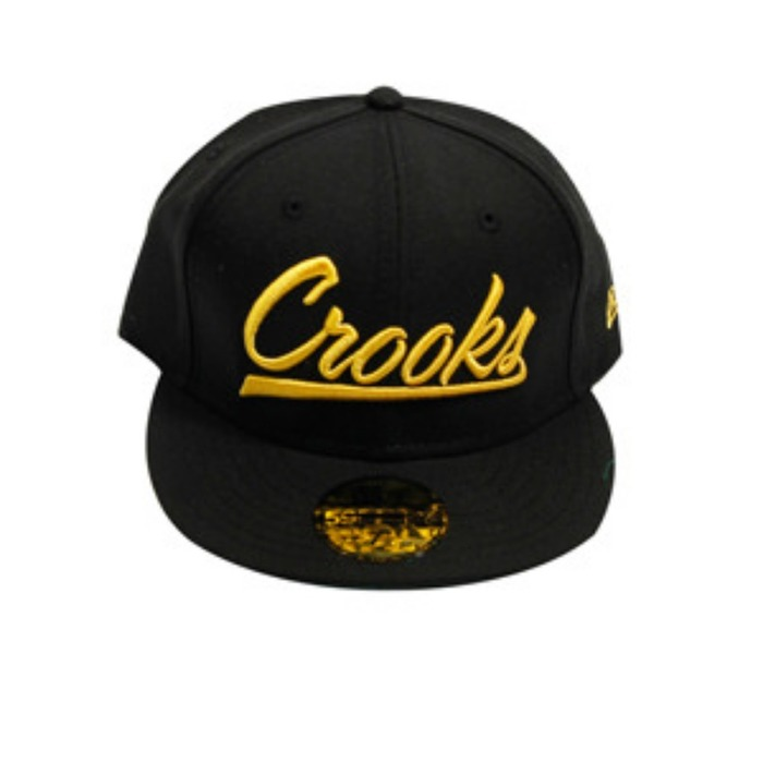 [크룩스앤캐슬]CROOKS & CASTLES BASEBALL SCRIPT FITTED [3] - 풋셀스토어