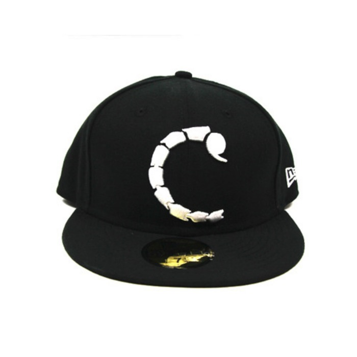 [크룩스앤캐슬]CROOKS & CASTLES MENS WOVEN SCORPION C FITTED NEW ERA [1] - 풋셀스토어