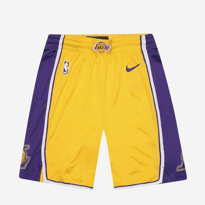 [해외] 나이키 NBA LA 레이커스 스윙맨 홈 쇼츠, NIKE NBA LA LAKERS SWINGMAN HOME SHORT - 풋셀스토어