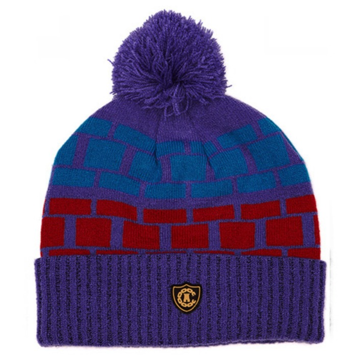 [크룩스앤캐슬]CROOKS & CASTLES Mens Knit Pom Beanie - Rolly [3] - 풋셀스토어