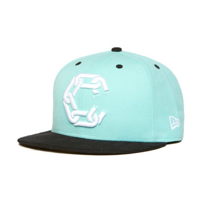 [크룩스앤캐슬]CROOKS & CASTLES Mens Woven Fitted Cap - New Chain [2] - 풋셀스토어