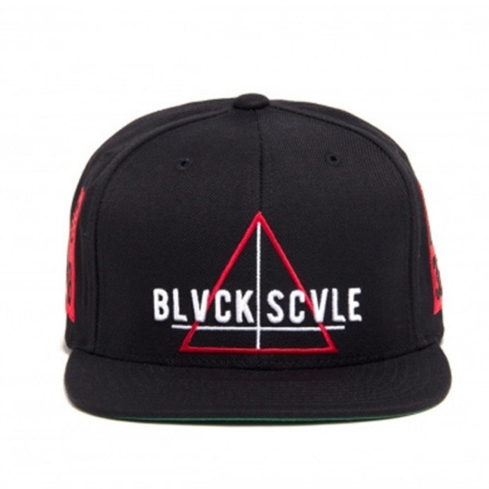 [블랙스케일]BLACK SCALE Team Blvck Snapback, Black - 풋셀스토어