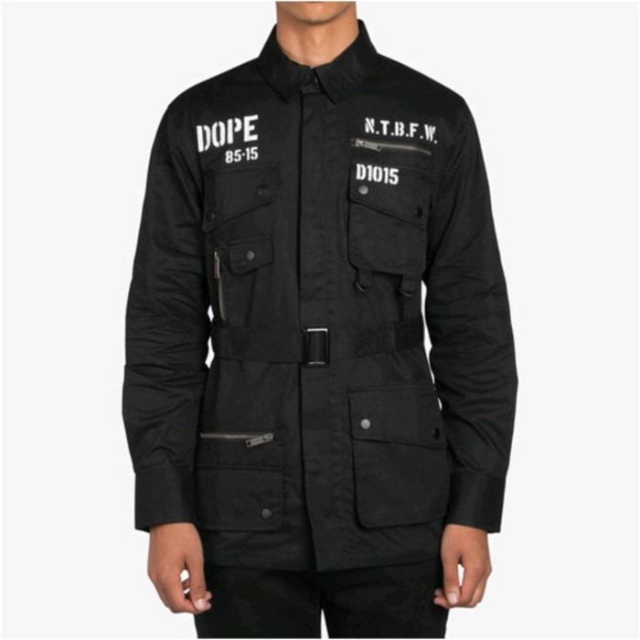 [도프]DOPE Standard Issue M65 (Black) - 풋셀스토어